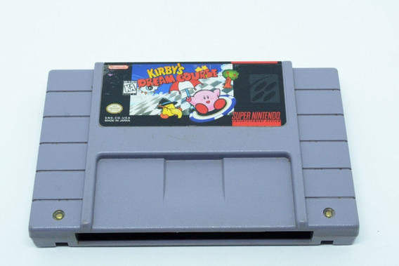 Fita Snes Kirbys Dream Course Cartucho Super Nintendo