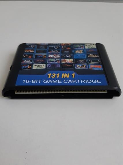 Cartucho 131 Jogos Em 1 Para Sega Megadrive/genesis*