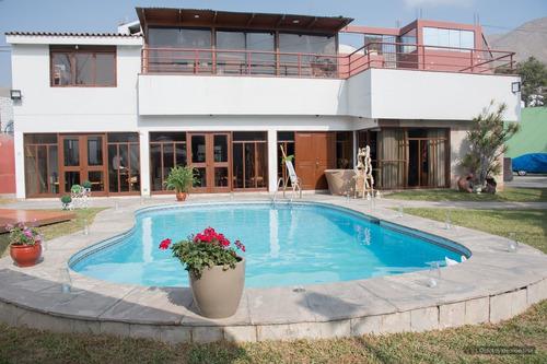 Imagen 1 de 13 de Alquilo Hermosa Casa Para Eventos En El Sol De La Molina