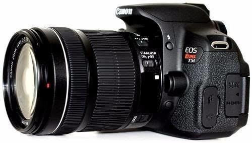 Câmera Profissional Canon T5i + Lente 18-55mm