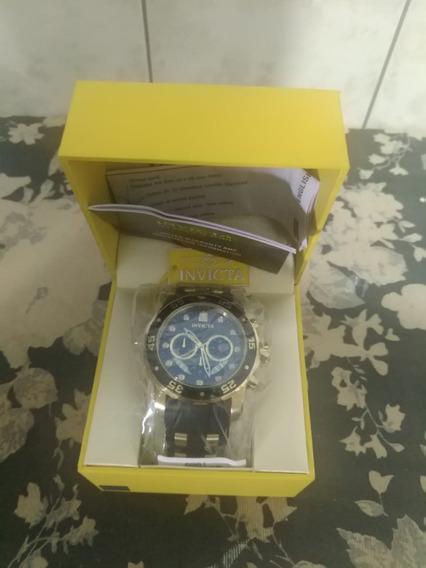 Relógio Invicta Pro Diver 6981 Dourado B. Ouro 18k