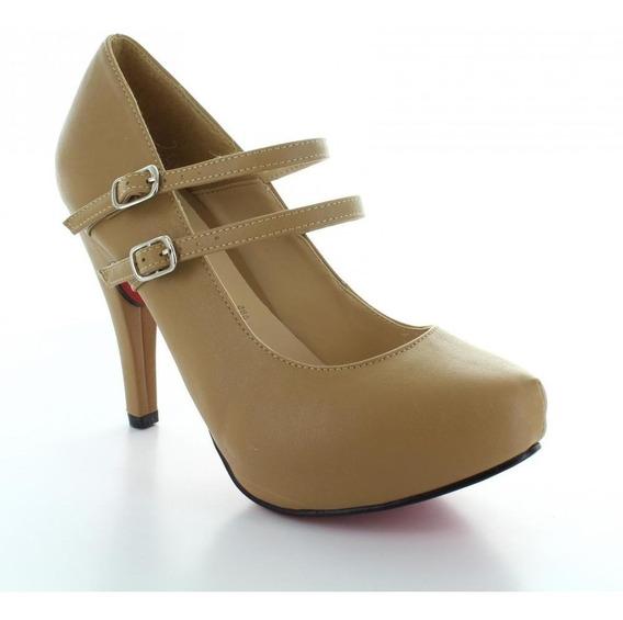 Zapatilla Para Mujer Muzza 10188-012983 Color Cafe