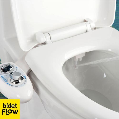 Imagen 1 de 10 de Bidet Para Inodoro Plus Adaptable+kit Instalacion Env/gratis
