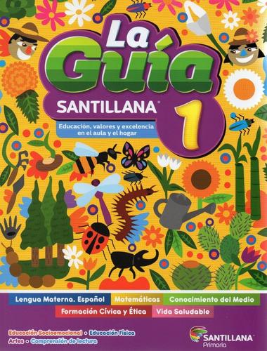 Imagen 1 de 7 de Guía Santillana 1° Pack C/5 Libros + Examen Pública 2021-22