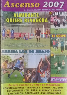 Revista Ascenso N°528.comu,almirante,cole,temperley,all Boys