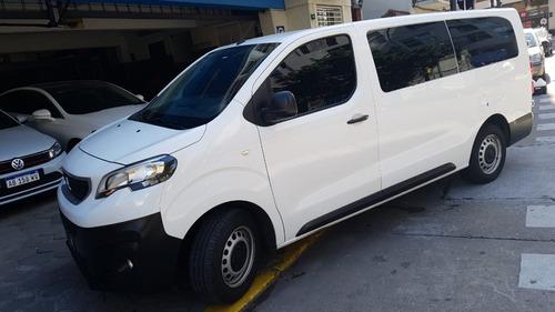Peugeot Expert Premium 1.6 Hdi 2018 Blanca Vidriada 6 Asient