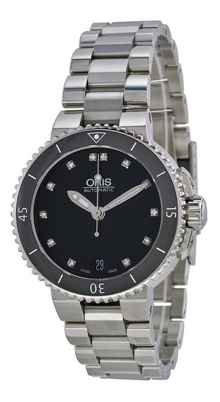 Reloj Oris Aquis Acero Inoxidable Mujer 73376524194mb