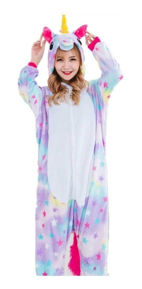 Pijama Unicornio Estrellas Kigurumi Tipo Disfraz Importada!!