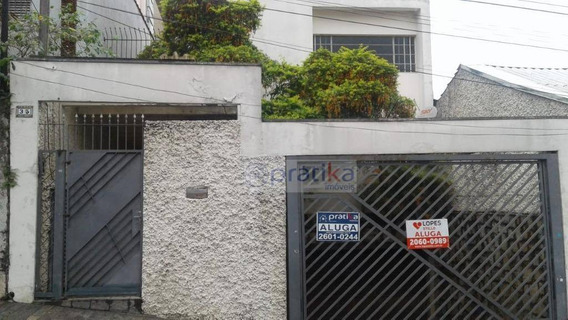 Sobrado Com 3 Dormitórios Para Alugar, 211 M² Por R$ 3.000/mês - Mooca - São Paulo/sp - So0610