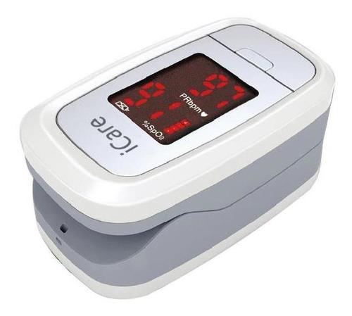 Imagen 1 de 5 de Oximetro Saturometro De Pulso Icare Cms50dl1 Niño Y Adulto