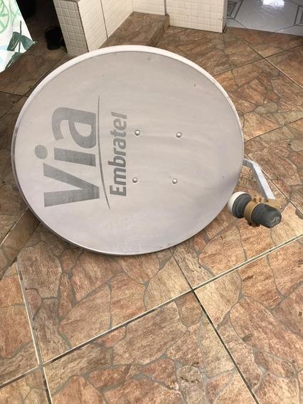 Antena Para Tv A Cabo Via Embratel, Atende Todas Operadoras