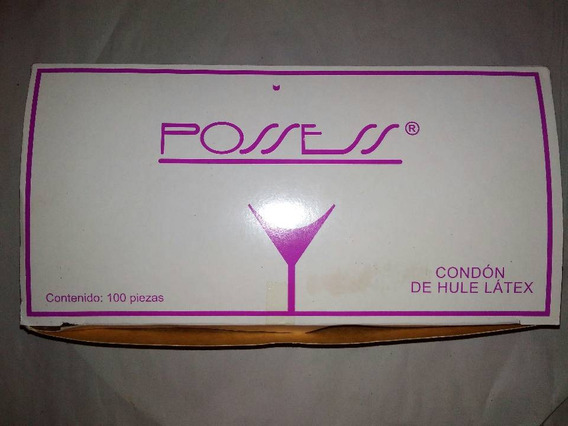 Condones De Látex 500 Pzas Marca Possess
