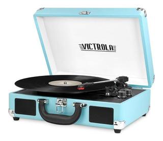 Tocadiscos Vintage Victrola Portatil Bluetooth Vsc-550bt