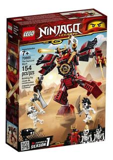 Lego® Ninjago Legacy - Robot Samurái 154 Pzs 70665- Cuotas