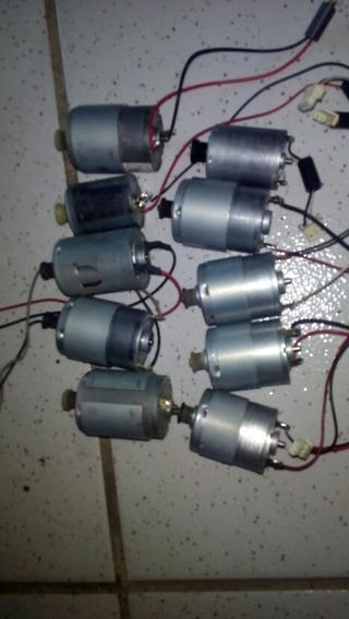 Motor De Impressora 12 V Projeto Eólico E Eletrônico Kit 10