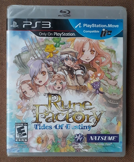 Rune Factory: Tides Of Destiny - Ps3