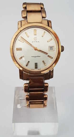 Relógio Cyma Navystar Vintage