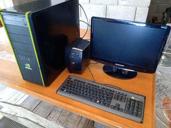Computador Completo Intel 3.4ghz 4gb Ram 500gb Hd