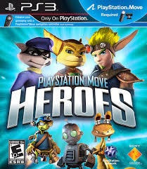 Jogo Playstation Move Heroes - Ps3 Mídia Física Usado