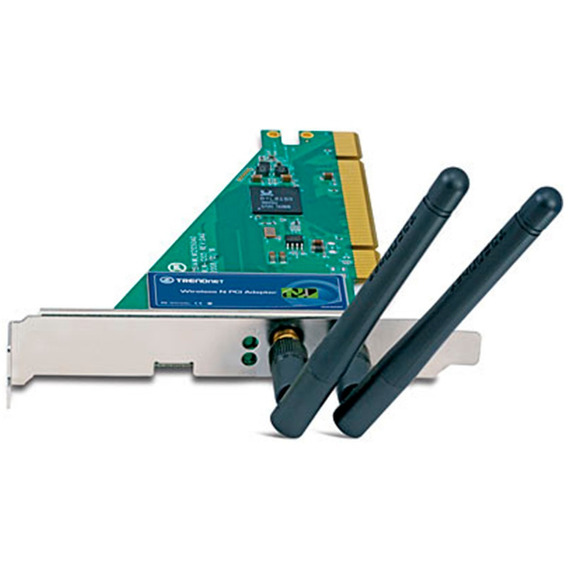 Adaptador Pci Inalambrico Wireless N Trendnet Tew-643pi