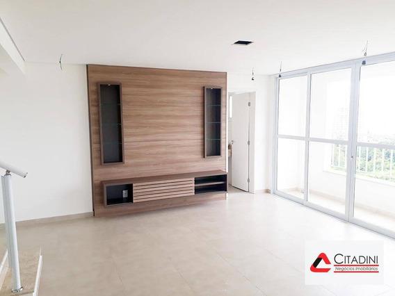 Cobertura Para Venda No Campolim, Com Closet E 3 Vags De Garagem - Co0066 - Co0066