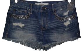 Short Jeans Abercrombie & Fitch Tam. 8 Eua | Com Etiqueta