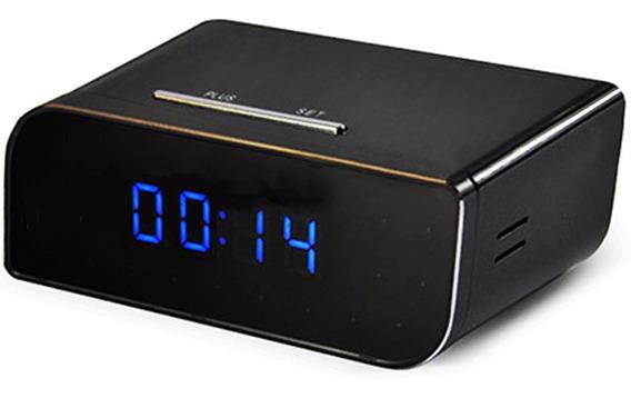 Reloj P2p Monitoreo Mediante App 720 Hd Despertador Espia