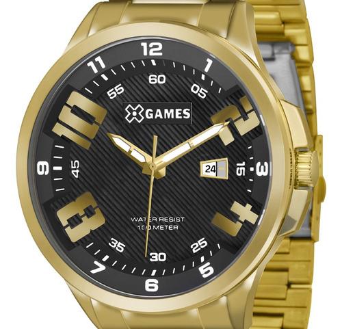 Relógio X-games Masculino Xmgs1012 P2kx C/ Garantia E Nf