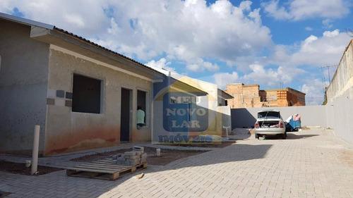Casa Com 3 Dormitórios À Venda, 57 M² Por R$ 210.000,00 - Passauna - Araucária/pr - Ca0386