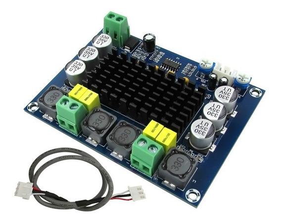 Placa Amplificador 2.0 Modulo 120+120 240w Rms Potencia Diy