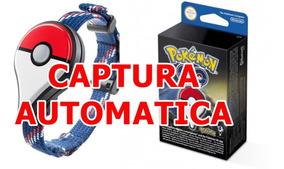 Pulseira Pokemon Go Plus Nintendo Original Automático