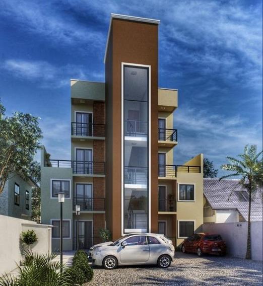 Apartamento Para Venda Em São José Dos Pinhais, Boneca Do Iguaçu, 3 Dormitórios, 1 Banheiro - 406-3q