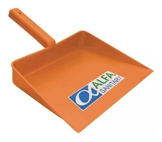 Recogedor Manual De Plástico Naranja