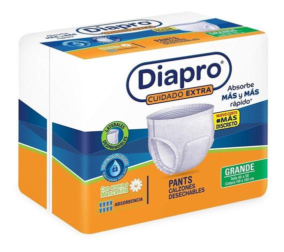 Pañal Para Adulto Diapro Pants Grande 10pzas