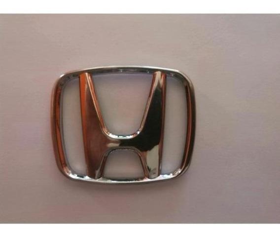 Emblema Logo Da Grade Honda Civic 96 97 98 99 00 7cm Compr.