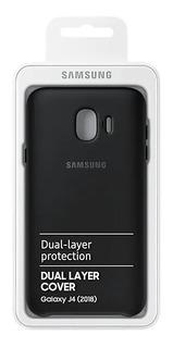 Capa Dual Layer Galaxy J4 Original Nova Na Caixa