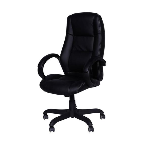 Cadeira Office Executiva Alta Giratória Preto Or Design