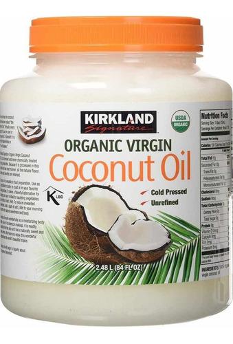 Aceite De Coco Kirkland 100% Orgánico - L a $74950