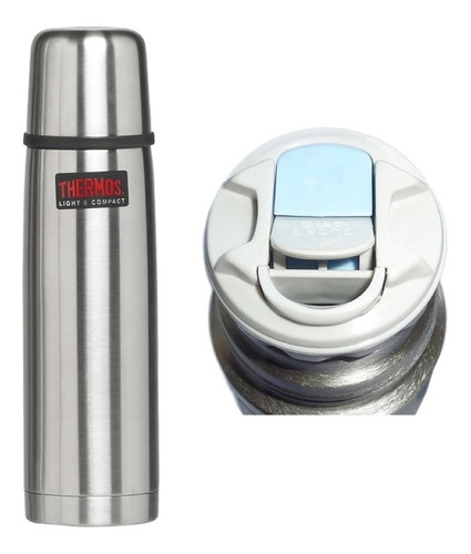 Termo Thermos Acero Inoxidable 1 Litro Bala Matero Cebador