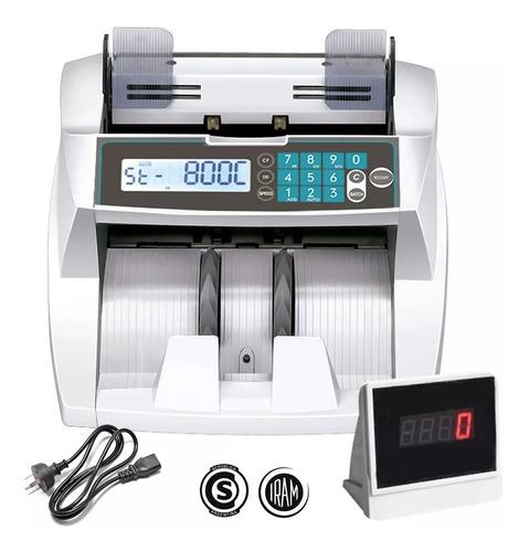 Contadora Billetes Contar Máquina Cuenta Dinero Detector