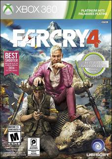 Far Cry 4 X360 Platinum Hits Español Nuevo