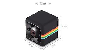 Sq11 Mini Camera 1280x960 Visão Noturna Quelima Preta