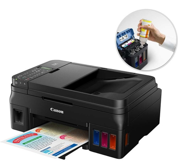 Multifuncional Tanque De Tinta Com Fax G4100 Wifi
