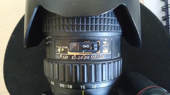 Lente Tokina 12-24mm Sd 12-24 F4 (if) Dx
