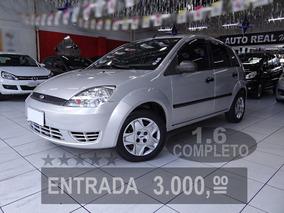 Ford Fiesta 1.6 Completo, Impecável, Fácil Aprovação