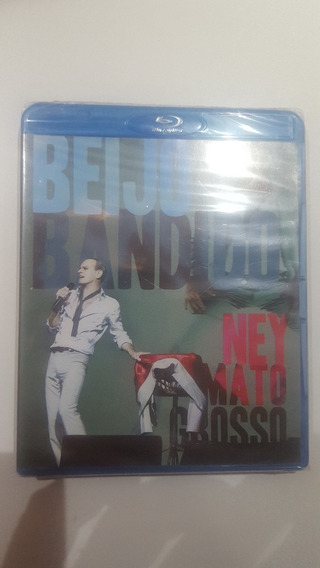 Blu-ray Ney Matogrosso Beijo Bandido Original Lacrado