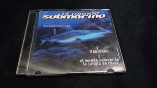 El Mundo Submarino De Jack Cousteau 18 Dvd