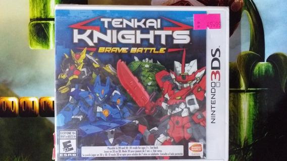 Tenkai Knights Brave Battle Nintendo 3ds 2ds Novo Lacrado