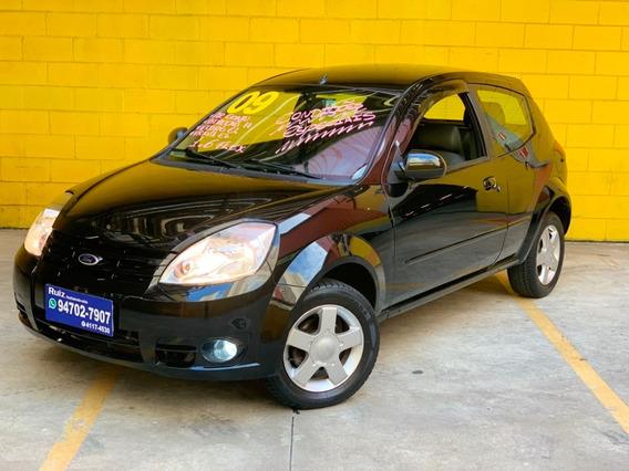 Ford Ka 1.6 Flex Completo + Bancos Couro + Roda Raridade