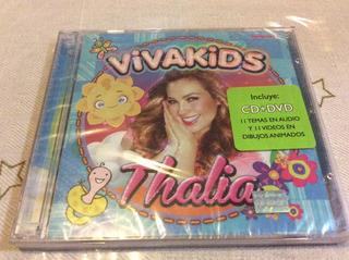 Cd Thalía Viva Kids Cd+dvd